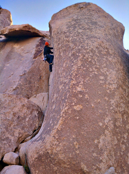 Rock Climbing Photo: Fisticuffs