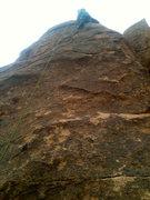 Rock Climbing Photo: The wife on Bobcat.