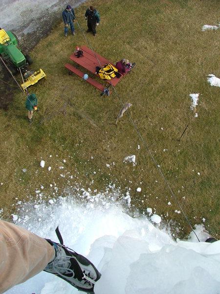 Ice silo fun