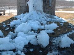 Rock Climbing Photo: Ice silo season is over