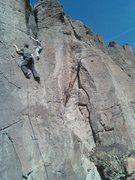 Rock Climbing Photo: Jon Richard navigating the Sale at Mervyn's.