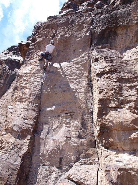 Rock Climbing Photo: Josh Smith sending in style.
