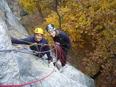 Rock Climbing Photo: Autumn in the Near Trapps, Gunks