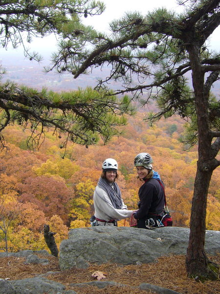 Rock Climbing Photo: Top of the Near Trapps