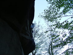 Rock Climbing Photo: At the second roof