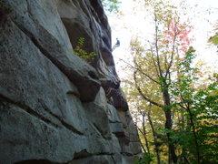 Rock Climbing Photo: Dylan on Master Exploder. Jay Denver in the back r...