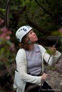 Rock Climbing Photo: Belaying time