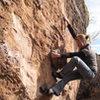 Climbing at Garden of the Gods, CO
