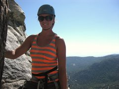 Rock Climbing Photo: Tahquitz...maybe traitor horn this day