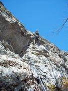 Rock Climbing Photo: Ryan Barber on the FFA