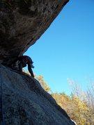 Rock Climbing Photo: Ryan Barber leading P2
