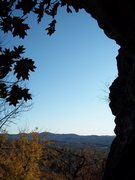 Rock Climbing Photo: view from Pin Belay