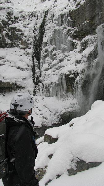 Rock Climbing Photo: Second Falls