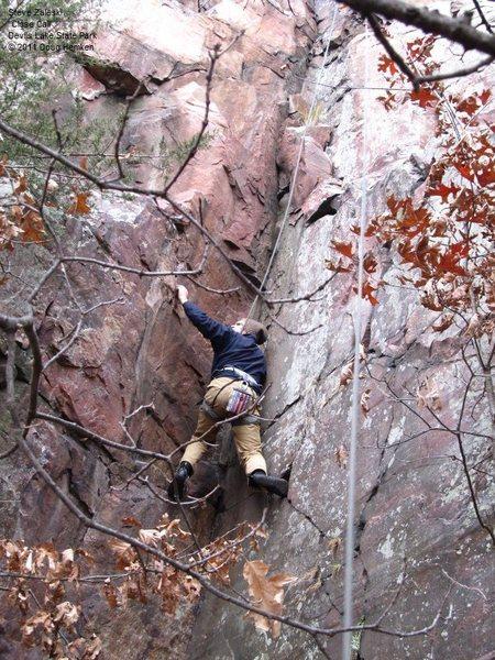 Rock Climbing Photo: Steve