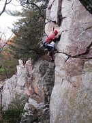 Rock Climbing Photo: Dunbar