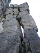Rock Climbing Photo: Looking at the west side of Pypmy Pillar.