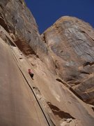 Rock Climbing Photo: Flakes of Wrath, Moab