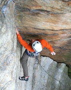 Rock Climbing Photo: Golden Dream