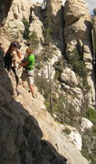 Rock Climbing Photo: My first traverse ever of course had to be done on...