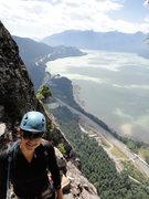 Rock Climbing Photo: the chief - squamish - upper black dyke