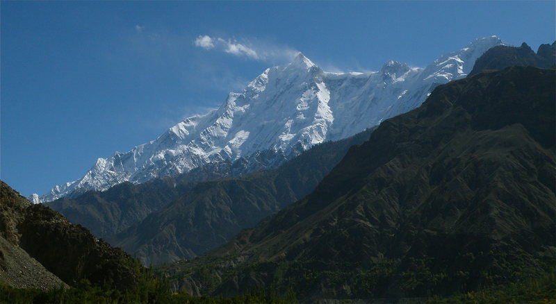 Rock Climbing Photo: Rakaposhi (25,551 feet)