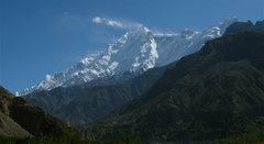 Rock Climbing Photo: Rakaposhi (25,551 feet)