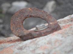 Rock Climbing Photo: rusty bolt