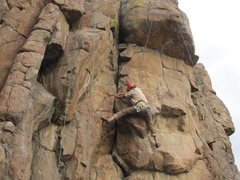 Rock Climbing Photo: I guess this is off route but, anyway, This is the...