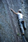 Rock Climbing Photo: My first 5.9 trad onsight, eagle's nest, Cathedral...