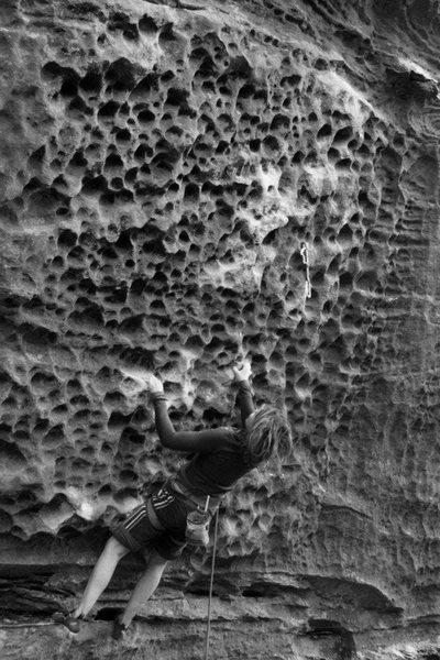 Rock Climbing Photo: slopers