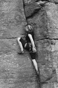 Rock Climbing Photo: lily...