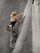 Rock Climbing Photo: Penny Lane at the Smoke Bluffs.