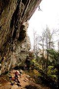 Rock Climbing Photo: Cell Block Six in Fall.