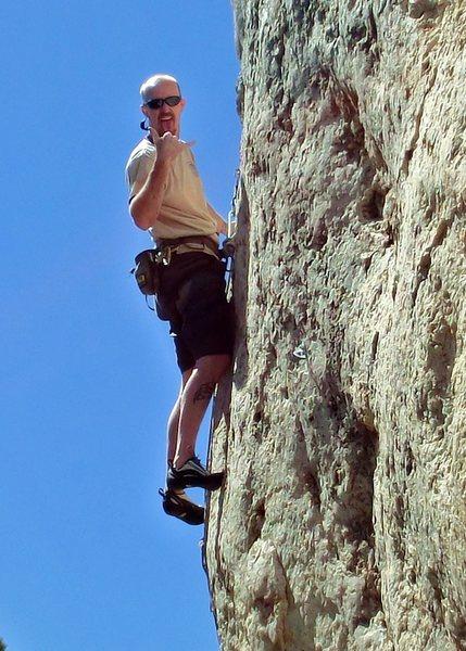 Rock Climbing Photo: victor blanco wild iris