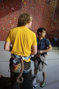 Rock Climbing Photo: Taka & I