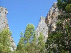 Rock Climbing Photo: Albahida sector at Sa Gubia
