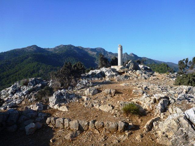Summit of Albahida