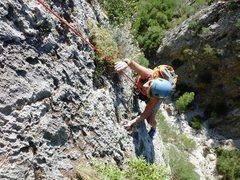 Rock Climbing Photo: Albahida pitch 2.