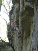Rock Climbing Photo: Only a few more moves...