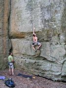 Rock Climbing Photo: Prepare yourself for some small sharp holds