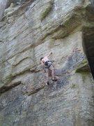 Rock Climbing Photo: The resting jug