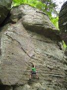 Rock Climbing Photo: Nick T. Bursting Out