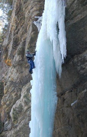 Rock Climbing Photo: Ice at SR
