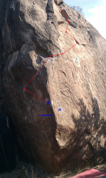 Rock Climbing Photo: Unscarred