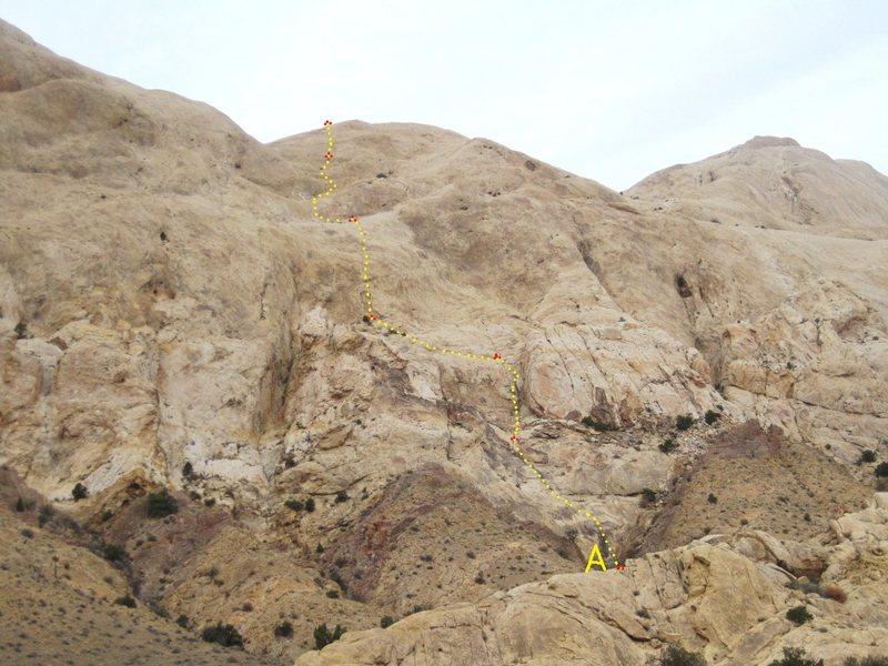 Rock Climbing Photo: A) Remembrance Day. 5.9