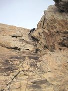 Rock Climbing Photo: Andy on P2