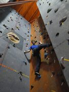 Rock Climbing Photo: What do you mean there's an easier way to do this?