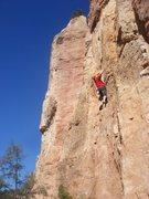 Rock Climbing Photo: Dave Wayne on Beach Ball.