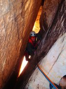 Rock Climbing Photo: Inside the tunnel - Arch Enemy