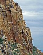 Rock Climbing Photo: Red Zinger corner